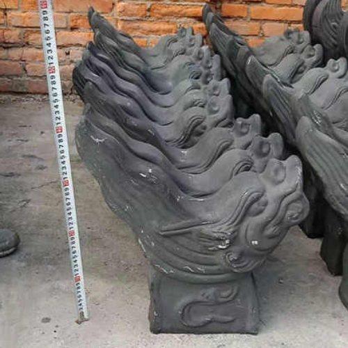 湖北古陶缘古建工艺制品有限公司 古建龙头翘角 龙头翘角制作