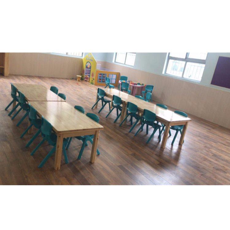 培训班儿童课桌椅报价 橡木儿童课桌椅定制 恒华