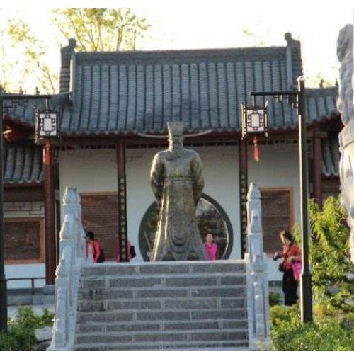 龙头铡神像 艺都 铸铜龙头铡铜像 大型铜雕龙头铡铜像