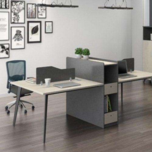 配套屏风员工桌颜色 高端屏风员工桌定做 致美