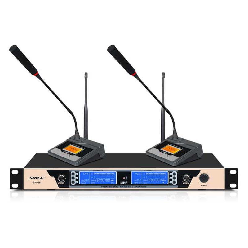 专业无线麦克风 无线麦克风设备 狮乐 无线麦克风