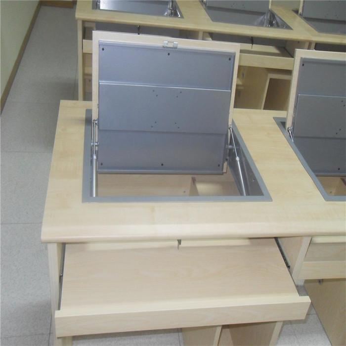 专业学生翻转电脑桌定制 直销学生翻转电脑桌 志欧