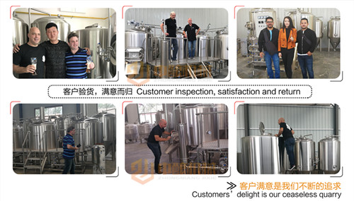 2000升啤酒厂设备,配备10-20个发酵罐可满足生产啤酒的目的,操作简单包学包会示例图14