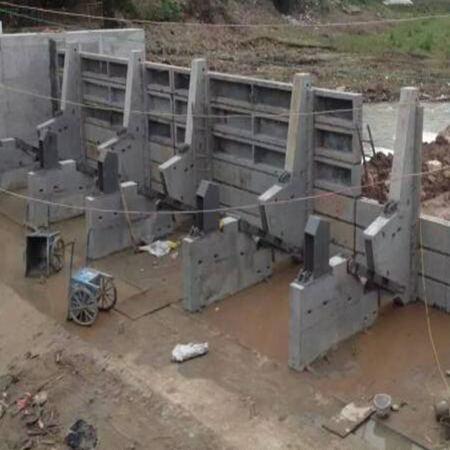 液压翻板闸门厂家钢制翻板闸门型号齐全 闸门下单即可发货