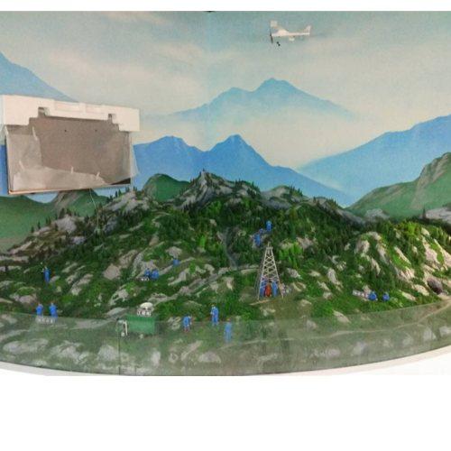 陕西全息投影沙盘模型设计 全息投影沙盘模型 沅呈模型