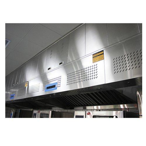 UV光解烟罩一体机 中央厨房烟罩一体机定做 佰超