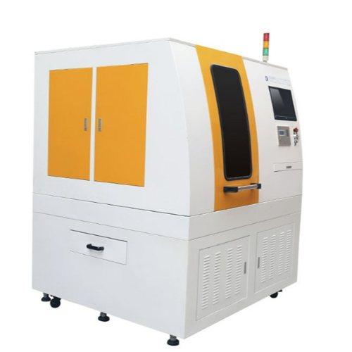 超越激光柔性FPC覆盖膜激光划片机精细加工