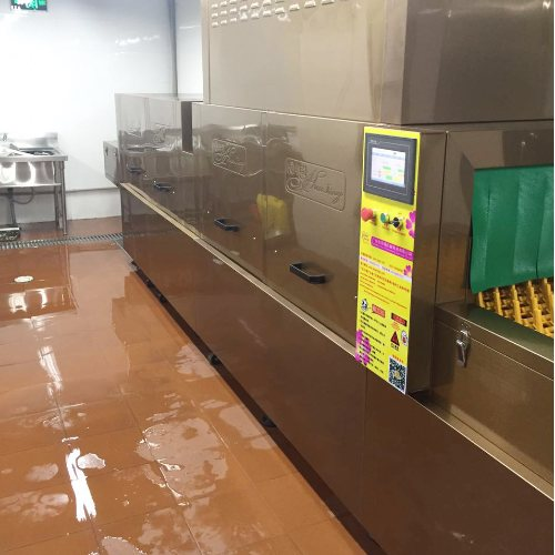 华璟 学校食堂自动洗碗机好不好 小型食堂自动洗碗机什么牌子好
