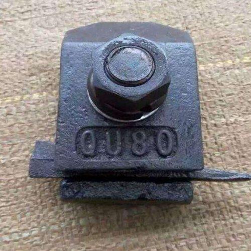 弹条压轨器经销商 焊接式压轨器 杨赵紧固件 双孔压轨器