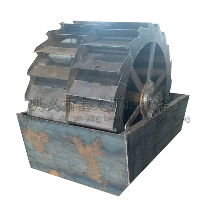水洗砂 移动水洗砂价格 鑫龙 水洗砂价格 轮式洗砂机 轮斗式洗砂机