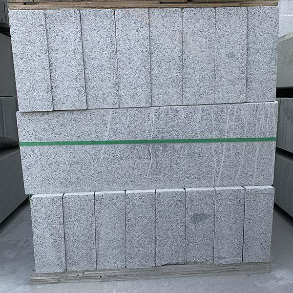 五莲花路边石规格尺寸 灰色路边石规格 高家石业