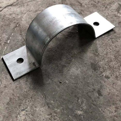 镀锌管箍销售 泽众 镀锌管箍 扁钢管箍销售