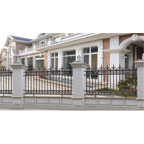 定制铝合金小区护栏安装 顺达 供应铝合金小区护栏图片