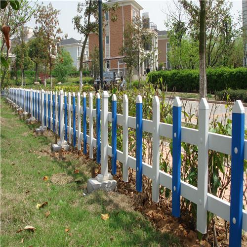 pvc绿化带护栏 施工草坪带栅栏草坪 护栏 营顺
