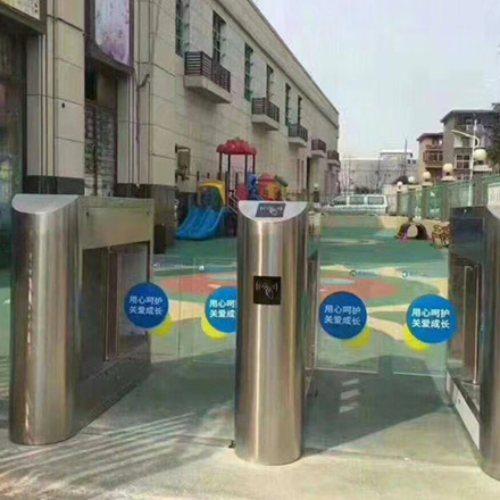 无障碍通道闸机安装 思诺科技 工地通道闸机施工