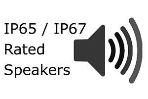 IP65/IP67 Speakers on Waterproof Computer