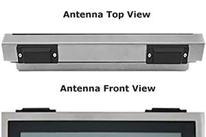 Flat Antenna on IP65 Computer