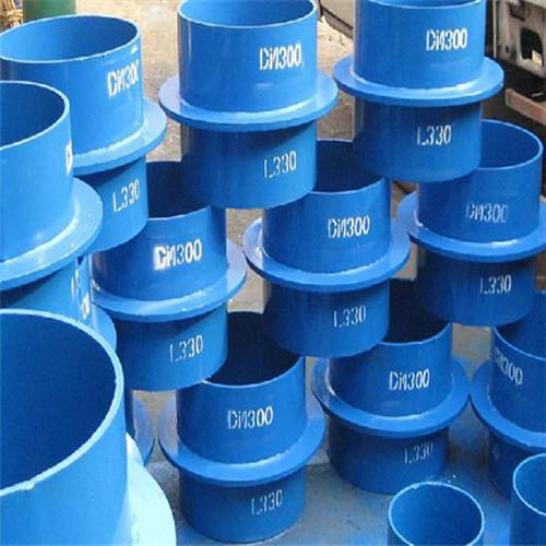 铸铁屋面防水套管规格参数 晟兴 加长型屋面防水套管供应商