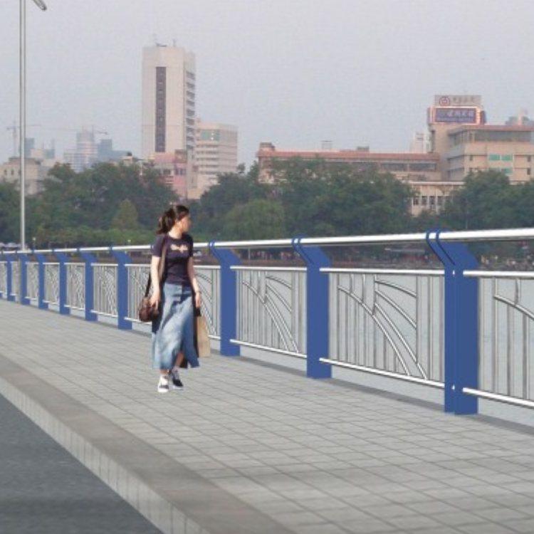 双金属复合管桥梁防护栏批发 双金属复合管桥梁防护栏销售 神龙