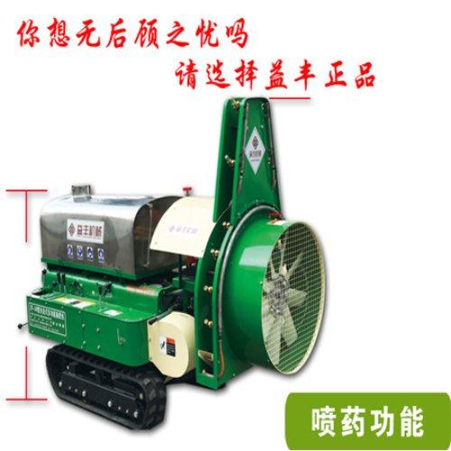 果树风送喷药机视频 益丰 专业生产风送喷药机供应