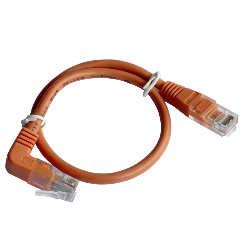 工厂直销 弯头网络转接线 电脑 交换机可用 批发 零售