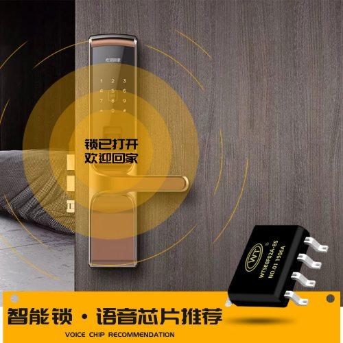 WT/唯创知音 语音IC语音合成芯片 汽车电子语音ICwt588d