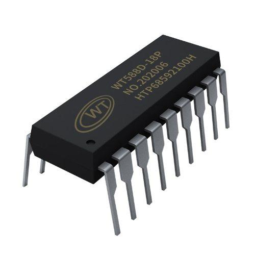 汽车电子语音ICisd WT/唯创知音 取暖桌语音IC语音合成芯片
