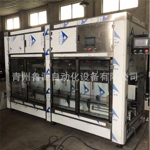 鲁源灌装线 液体汽油添加剂灌装生产线