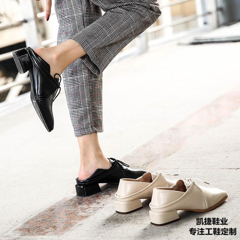 服务员鞋酒店员工鞋设计师品牌鞋 服务员鞋 服装店陈列鞋