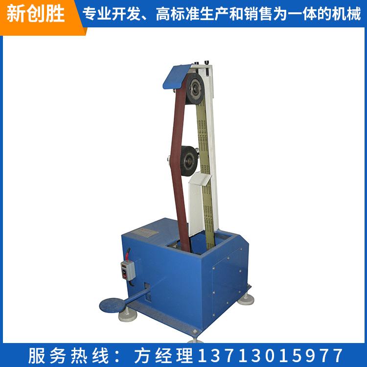 全自动铜材平面砂光机 表面靠轮砂带机 电动金属表面加工砂光机