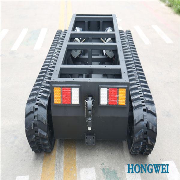橡胶履带底盘 OP-JNT-250 电动橡胶履带 机器人底盘
