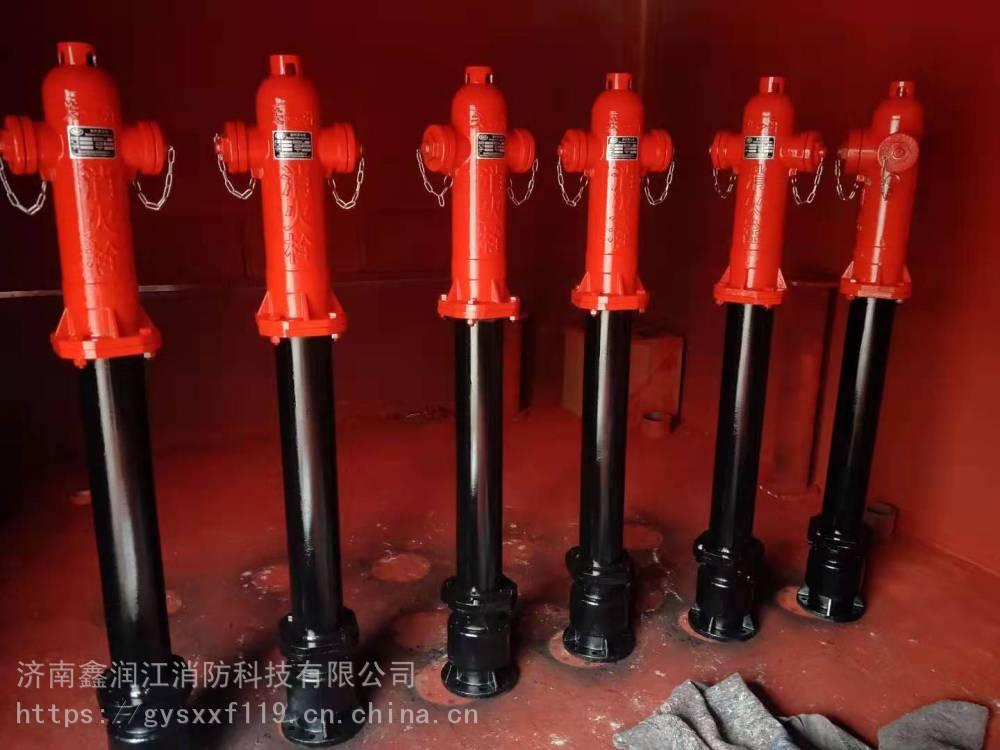 供应新疆呼和浩特防冻自泄调压室外消火栓SSFT150/65-16型号齐全值得信赖