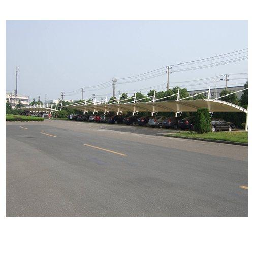 景观膜结构汽车棚订做 膜结构汽车棚定制 金梁