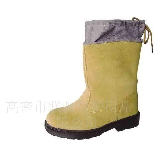 牛皮劳保鞋生产 防砸劳保鞋视频 联驰 防穿刺劳保鞋图片