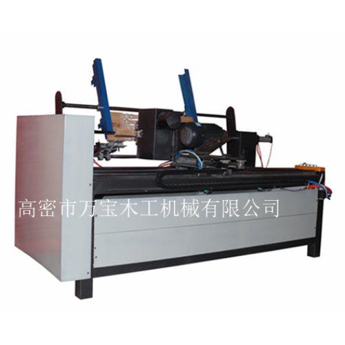 山东楼梯立柱打磨机价位 木质楼梯立柱打磨机制造商 万宝木工机械