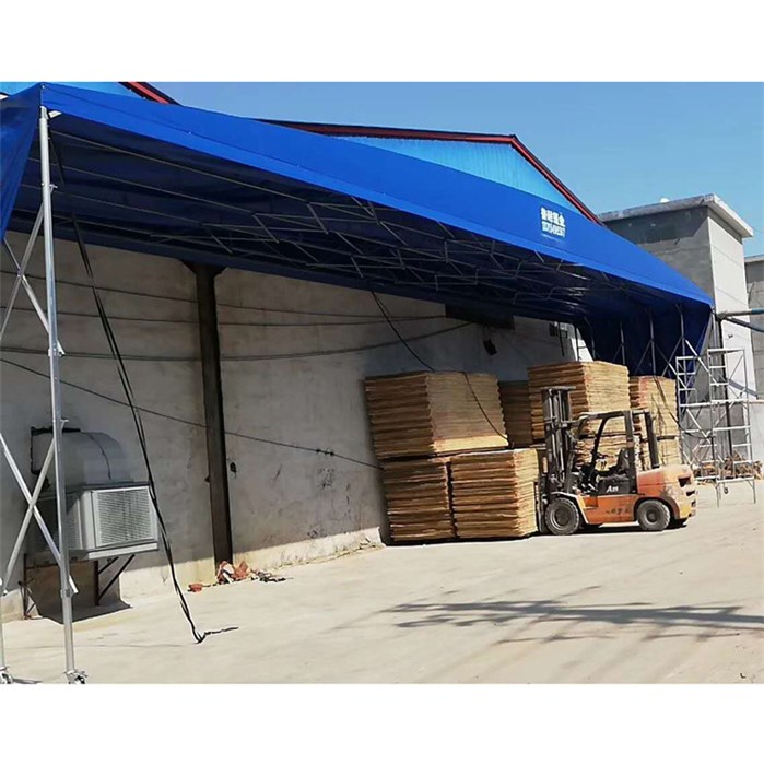 鲁耐 大型棚定制 防雨棚定制 大型棚制造