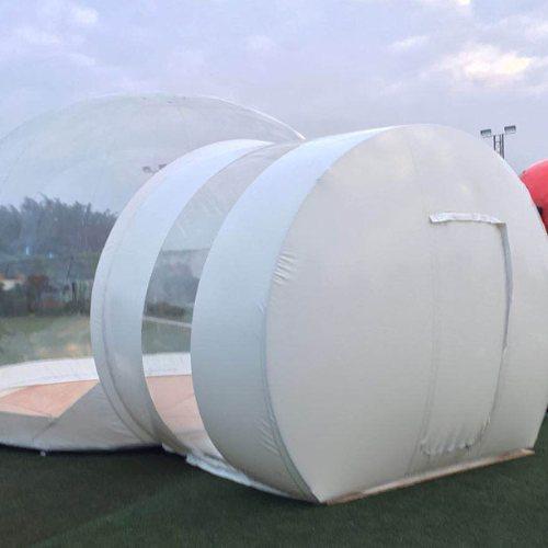 充气熊猫帐篷可定制 酒店熊猫帐篷 熊猫帐篷 乐飞洋