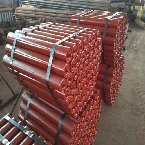 皮带输送机托辊经销商 天光工矿配件 矿用缓冲托辊加工 螺旋托辊长期供应