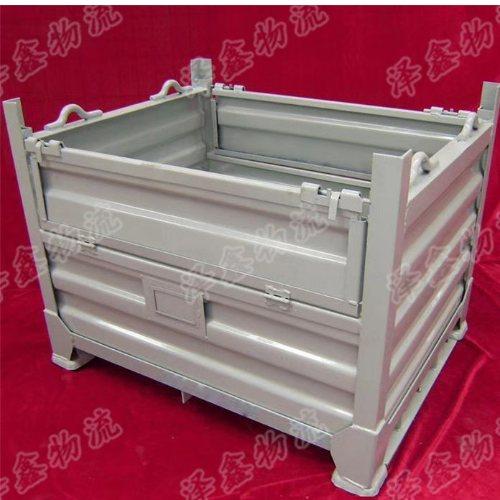 钢制物料周转箱定制 泽鑫 钢制物料周转箱加工