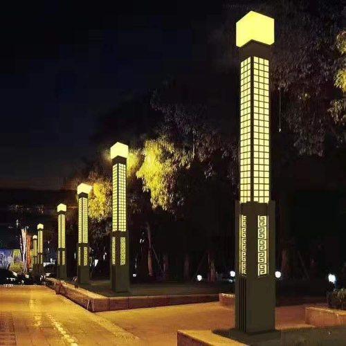 太阳能景观灯生产 公园太阳能景观灯生产 玉盛