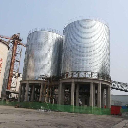 新型利浦式钢板仓订购 正泰龙利浦式钢板仓安装 正泰龙