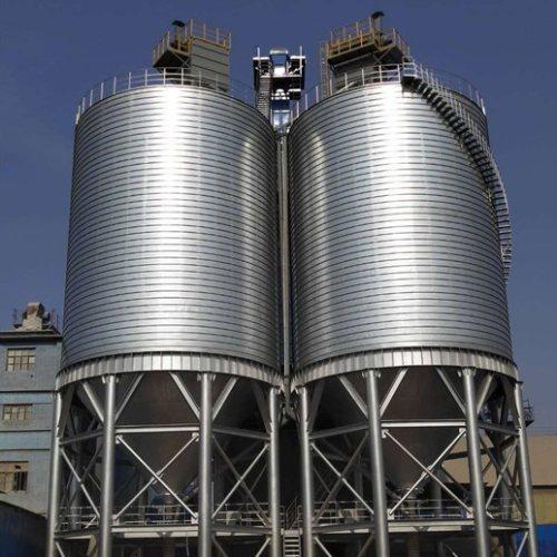专业粮食钢板仓订购 正泰龙 专业粮食钢板仓批发 粮食钢板仓建造