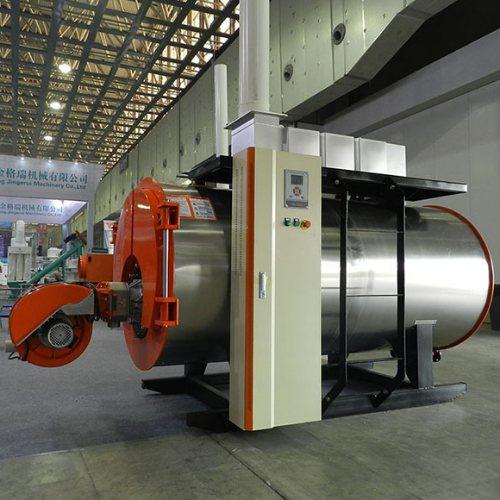 全自动燃气燃油冷凝热水锅炉温室大棚供暖加温设备热水锅炉