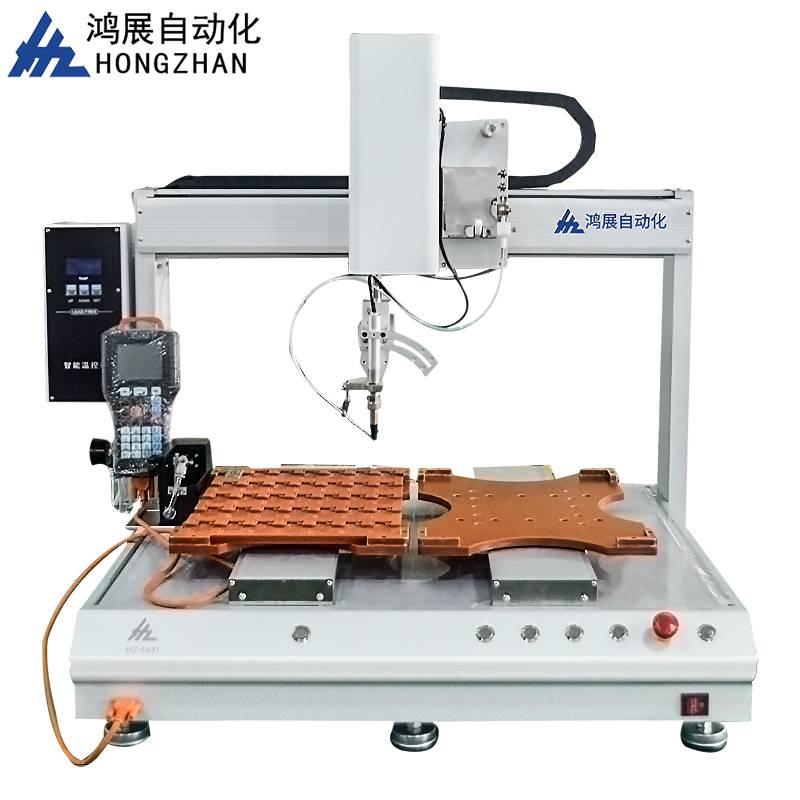 鸿展HZ-5331单头双工位全自动电路板点焊机