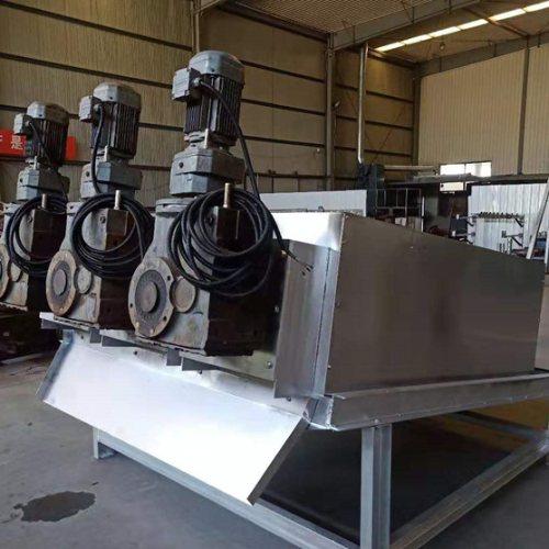 302叠螺污泥脱水机规格 养鸭叠螺污泥脱水机视频 弘满环保
