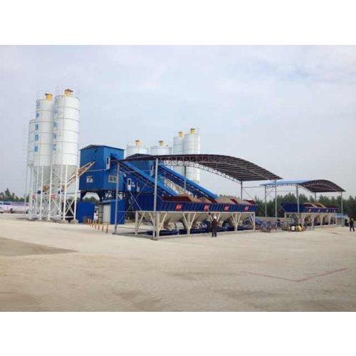 500型混凝土拌和站 创达 大型混凝土拌和站厂