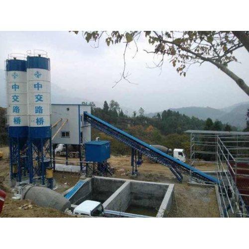 商业混凝土拌和站供应商 创达 移动式混凝土拌和站性能