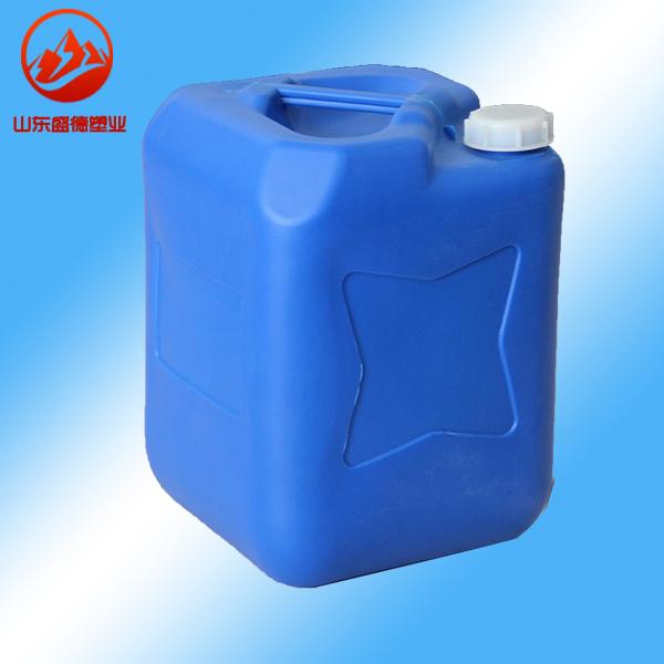 带透气垫25升塑料桶25公斤堆码桶大连25KG方形桶全新料无添加