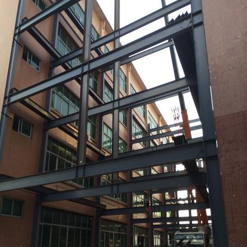 钢结构人行天桥-钢结构阁楼-钢结构隔层-隔层钢结构