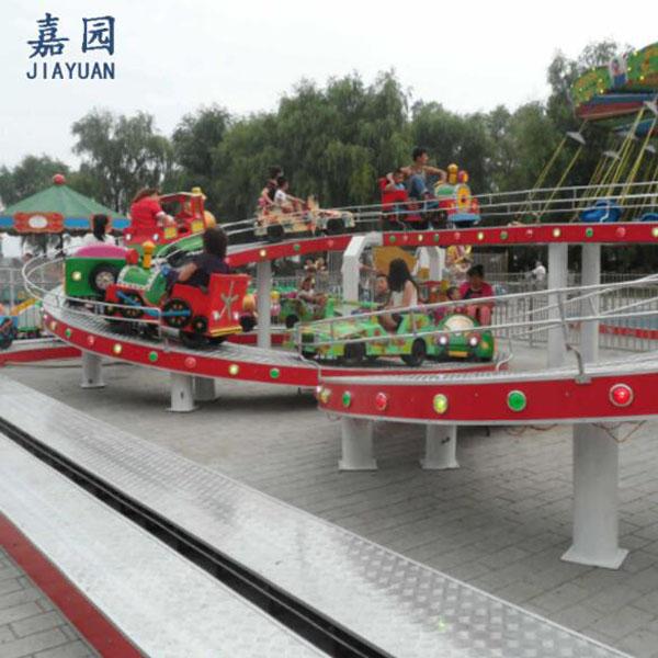 嘉园游乐双轨儿童过山车定做双层儿童过山车
